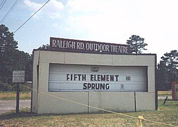 Raleigh Road Drive In Henderson Nc