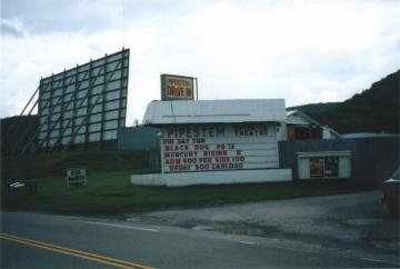 West virginia drive in theaters